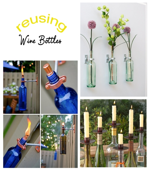 Reusing wine bottles be what we love for Recycling wine bottles creatively