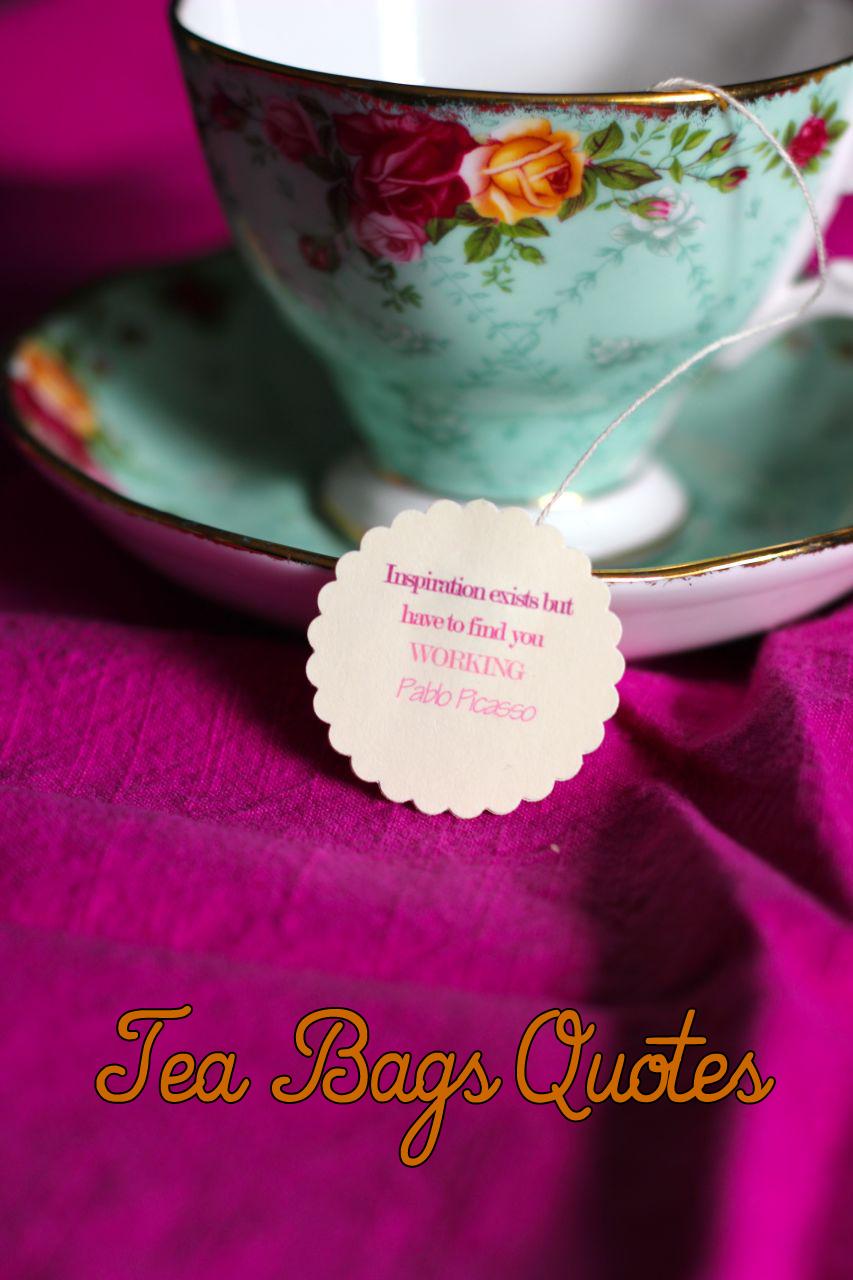 Tea Bag Gift Sayings