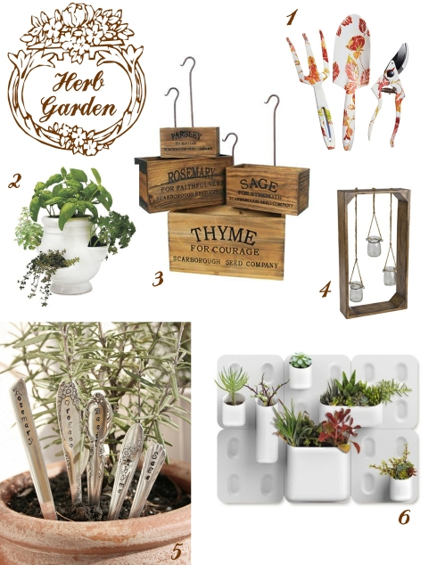 Herb garden ideas bewhatwelove for 1000 designs for the garden and where to find them