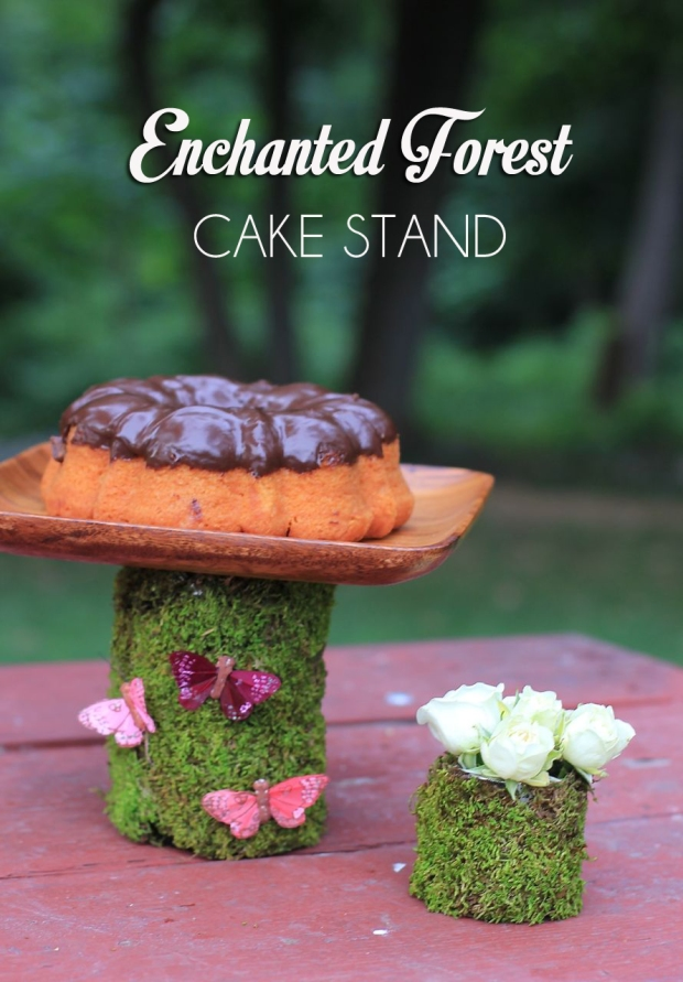 Enchanted Forest Cake Stand