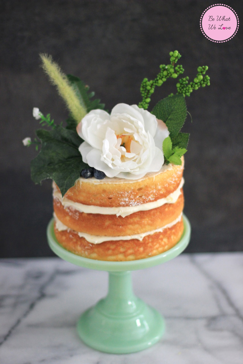 Naked Cake Bewhatwelove