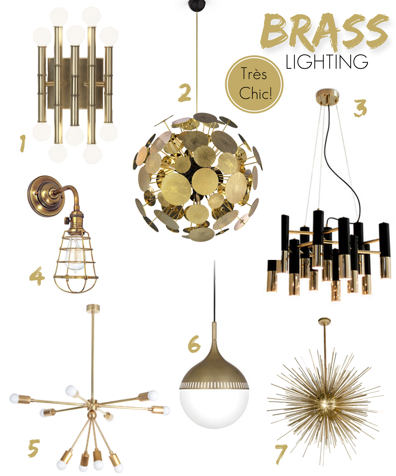 a touch of brass bewhatwelove brass lighting fixtures