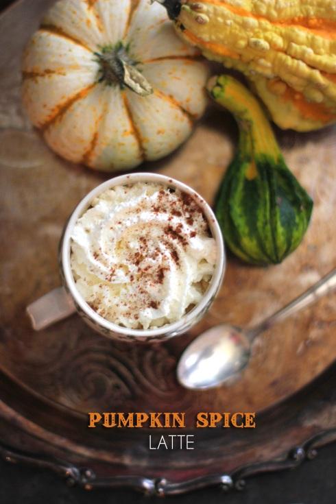 Pumpkin Spice Latte | Be What We Love recipe