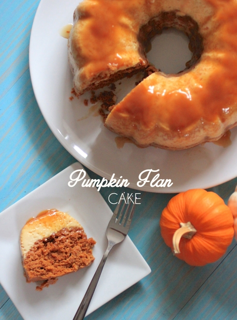 Pumpkin Flan Cake { Be What We Love }