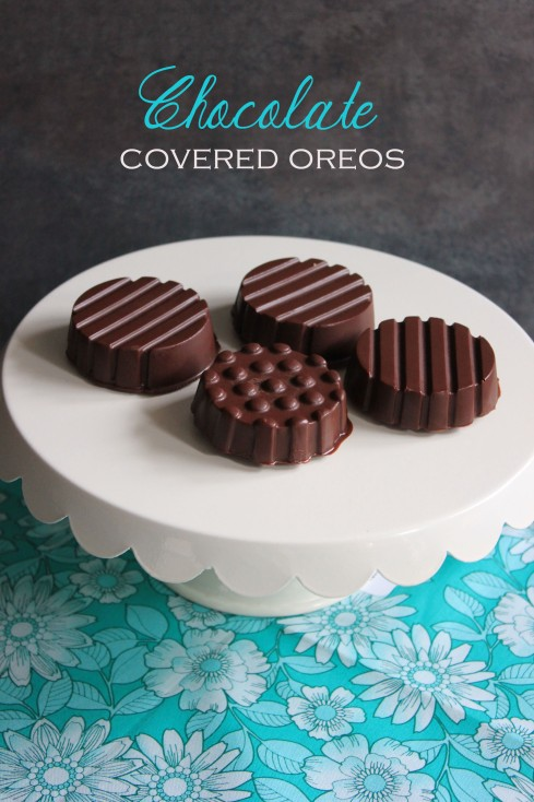 Chocolate Covered Oreos { Be What We Love }