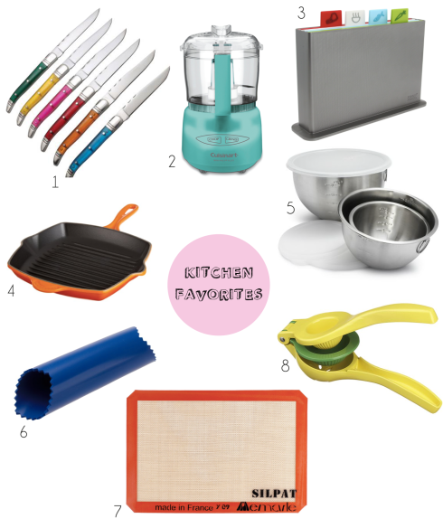 Kitchen Favorites { Be What We Love blog}