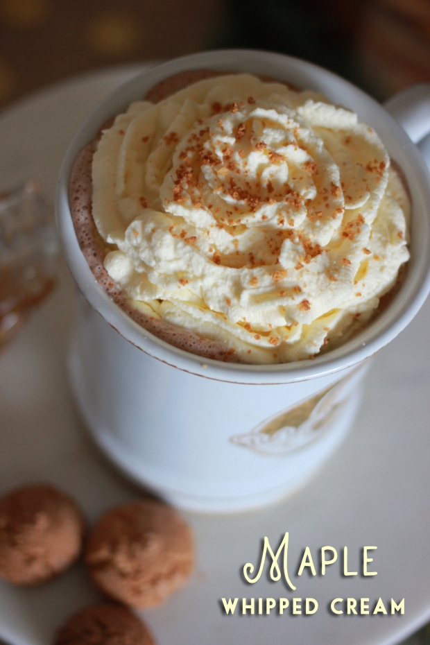 Maple Whipped Cream { Be What We Love }
