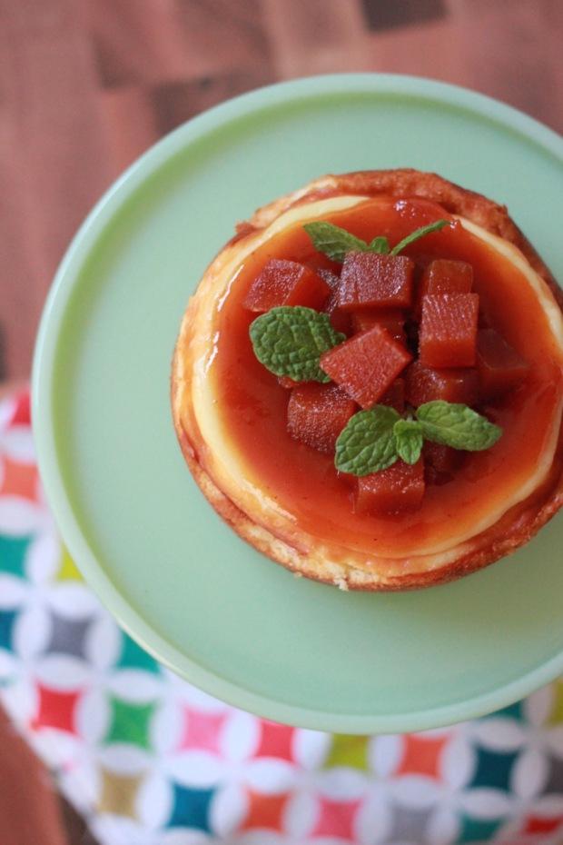 Mini Guava Cheesecake { Be What We Love}