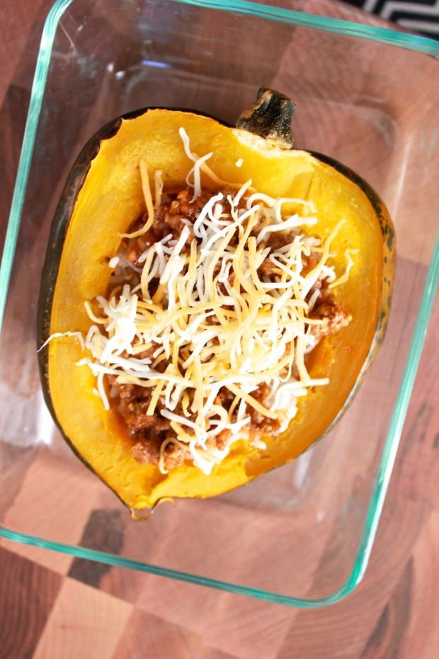 Stuffed Acorn Squash { Be What We Love recipe}