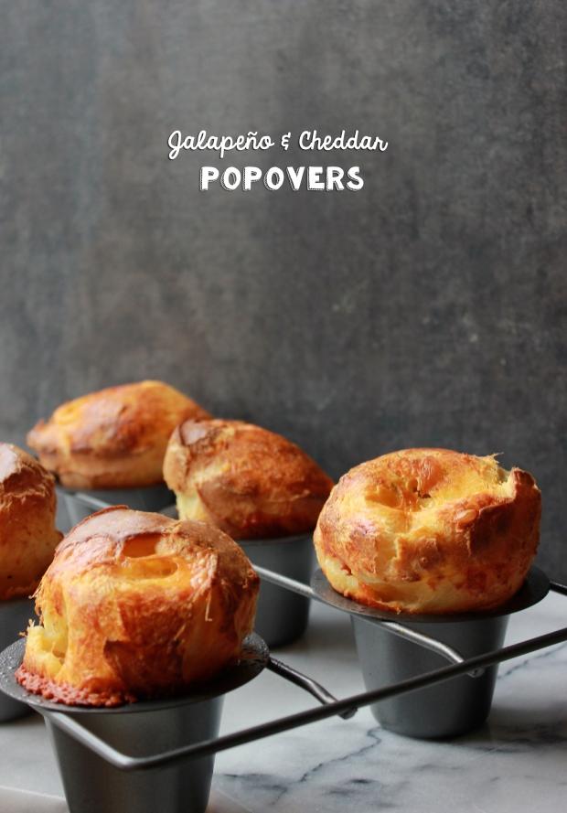 Jalapeño & Cheddar Popovers