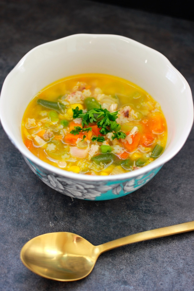 15-Minute Homemade Chicken Noddle Soup